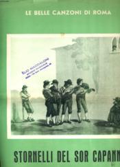 Stornelli Del Sor Capanna - Couverture - Format classique