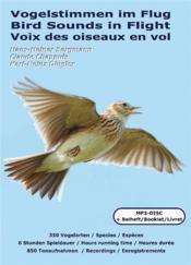 Voix des oiseaux en vol ; vogelstimmen im flug ; bird sounds in flight - Couverture - Format classique