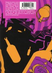 Jabberwocky t.1 - 4ème de couverture - Format classique