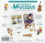 Les instruments de musique - 4ème de couverture - Format classique