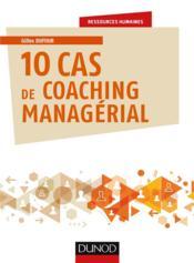 10 cas de coaching managérial - Couverture - Format classique
