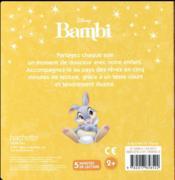 Bambi ; l'histoire du film - 4ème de couverture - Format classique