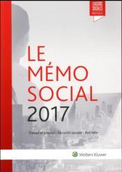 Le mémo social (édition 2017) - Couverture - Format classique
