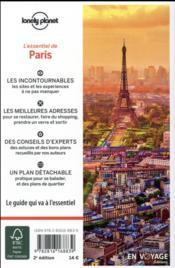 De Paris (2e édition) - 4ème de couverture - Format classique