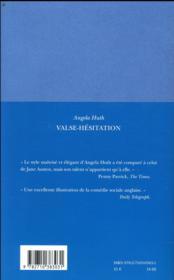 Valse-hesitation - 4ème de couverture - Format classique
