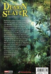 Demon slayer T.7 - 4ème de couverture - Format classique