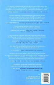 Trailblazer ; l'entreprise, plateforme incontournable de la plateforme - 4ème de couverture - Format classique