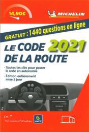 Code de la route Michelin (édition 2021) - Couverture - Format classique