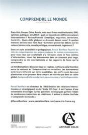 Comprendre le monde : les relations internationales expliquées à tous (6e édition) - 4ème de couverture - Format classique