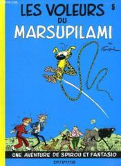 Les aventures de Spirou et Fantasio T.5 ; les voleurs du Marsupilami - Couverture - Format classique