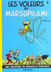 Les aventures de Spirou et Fantasio T.5 ; les voleurs du Marsupilami - Intérieur - Format classique