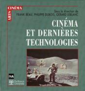 Cinéma et dernières technologies - Couverture - Format classique