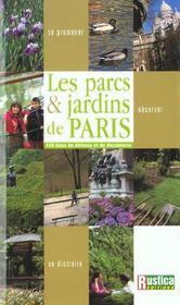 Le guide des 400 parcs et jardins de paris - Intérieur - Format classique
