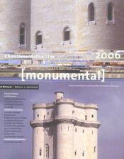 MONUMENTAL ; dossier Vincennes (édition 2006) - Intérieur - Format classique