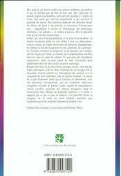 La fiction psychanalytique ; étude psychosociologique - 4ème de couverture - Format classique