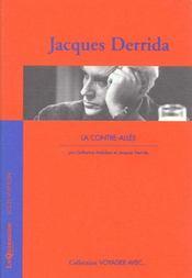 Voyager Avec Jacques Derrida - La Contre-Allee - Intérieur - Format classique