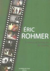 Eric Rohmer.Evidence Et Ambiguite Du Cinema - Intérieur - Format classique