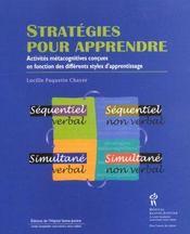 Strategies pour apprendre - Intérieur - Format classique