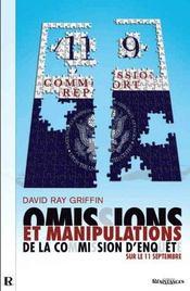 Ommissions et manipulations de la commission d'enquête sur le 11 septembre - Intérieur - Format classique