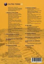 Outre-Terre T.20 ; Pourquoi On Meurt Au Darfour - Couverture - Format classique