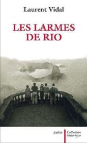 Les larmes de Rio - Couverture - Format classique