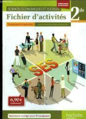 telecharger Sciences economiques et sociales – 2nde – fichier d'activites de l'eleve (edition 2010) livre PDF/ePUB en ligne gratuit