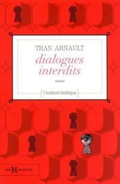 Dialogues interdits - Couverture - Format classique
