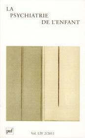 Revue La Psychiatrie De L'Enfant N.54/2 - Couverture - Format classique