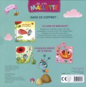 MA P'TITE MALLETTE ; Berlingot est un super héros ; coffret - 4ème de couverture - Format classique