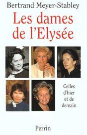 Les Dames De L'Elysee - Intérieur - Format classique