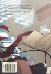 The mystic archives of Dantalian t.5 - 4ème de couverture - Format classique