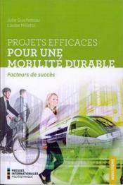 Projets efficaces pour une mobilité durable ; facteurs de succès - Couverture - Format classique
