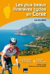 Les plus beaux itinéraires cyclos en Corse - Couverture - Format classique