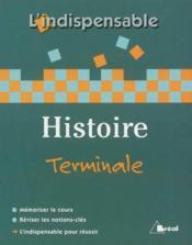 Histoire terminale l/es/s - Couverture - Format classique