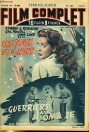 Stars Et Films - Tous Les Jeudis Film Complet N° 165 - Les Yeux De La Nuit - Guerriers Dans L'Ombre - Couverture - Format classique