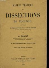 Manuel Pratique De Dissections De Zoologie - Couverture - Format classique