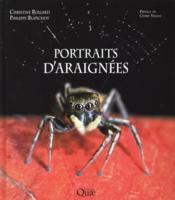 Portraits d'araignées - Couverture - Format classique