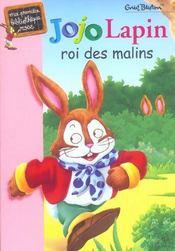 Jojo lapin roi des malins - Intérieur - Format classique