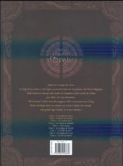 Les forêts d'Opale ; INTEGRALE VOL.1 ; T.1 A T.3 - 4ème de couverture - Format classique