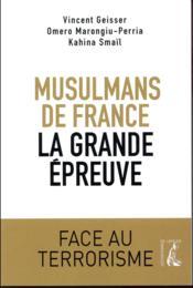 Les musulmans de France face au djihadisme - Couverture - Format classique