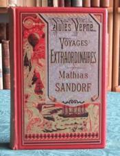 Mathias Sandorf. (Bannière argentée) - Couverture - Format classique