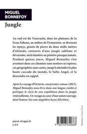 Jungle - 4ème de couverture - Format classique
