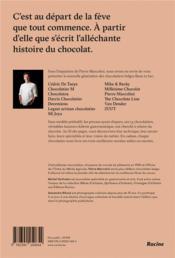 Le chocolat belge ; génération bean to bar - 4ème de couverture - Format classique