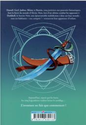 Les Légendaires - saga T.4 - 4ème de couverture - Format classique