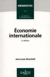 Economie Internationale - Couverture - Format classique