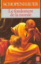 Le fondement de la morale - Intérieur - Format classique