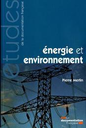 Énergie et environnement - Intérieur - Format classique