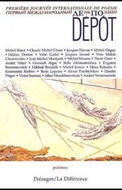 Dépot - Couverture - Format classique