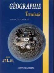 Géographie, Terminales L, Es, S - Couverture - Format classique