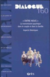 Dialogue N.160 - Couverture - Format classique